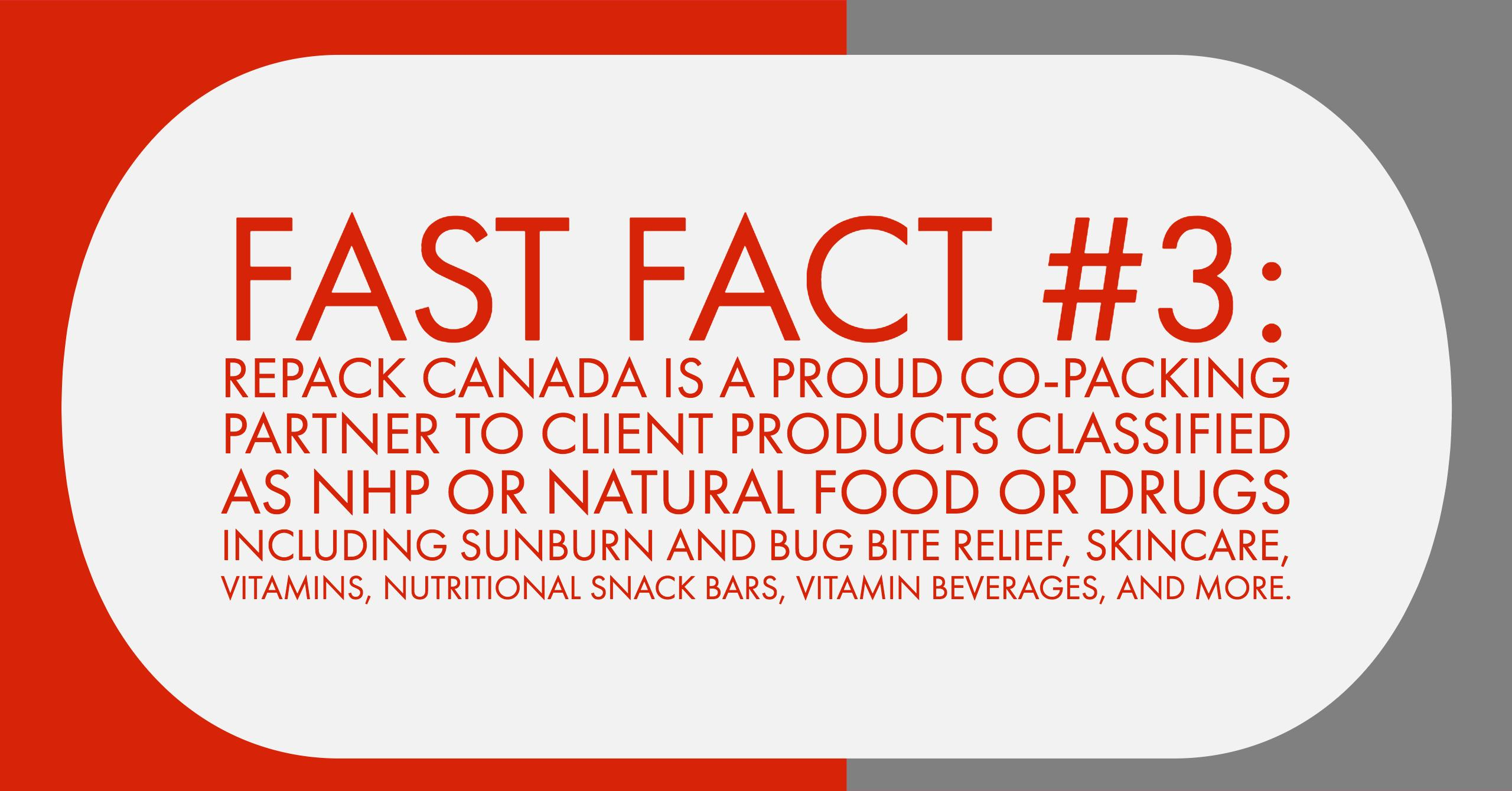 FastFact#3 Repack Canada NHP Site License